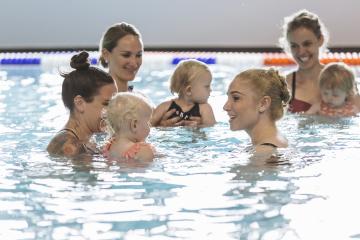Kleinkinderschwimmen 1-2 Jahre
